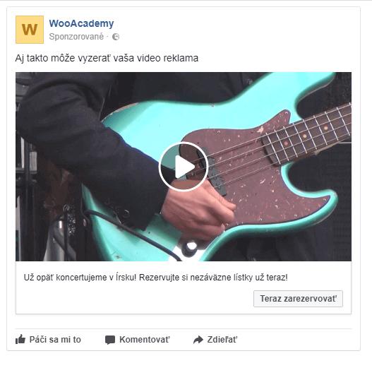 video reklama facebook