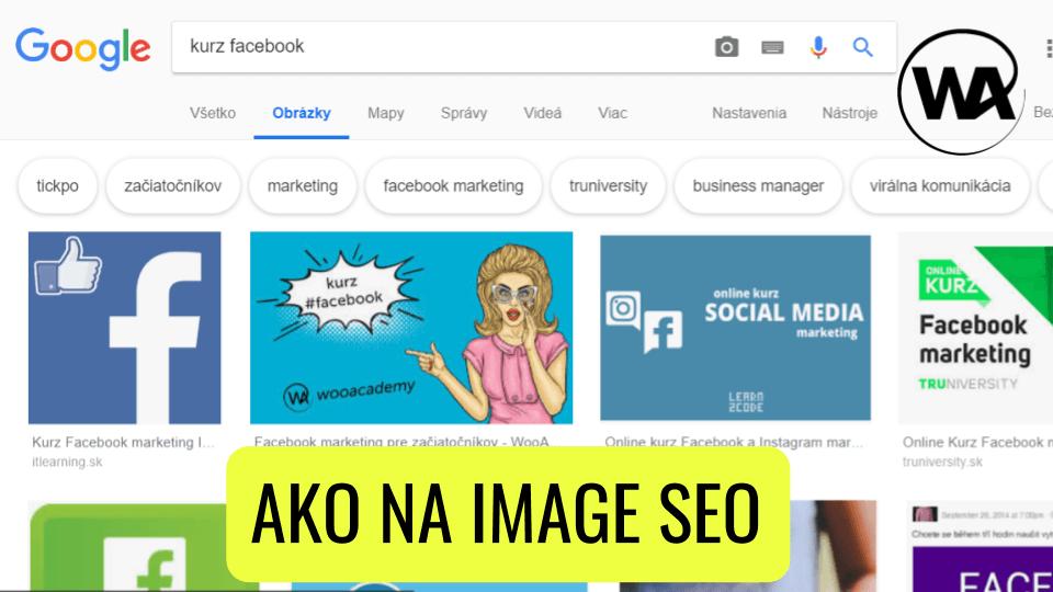 Google obrázky – Image SEO (základy)