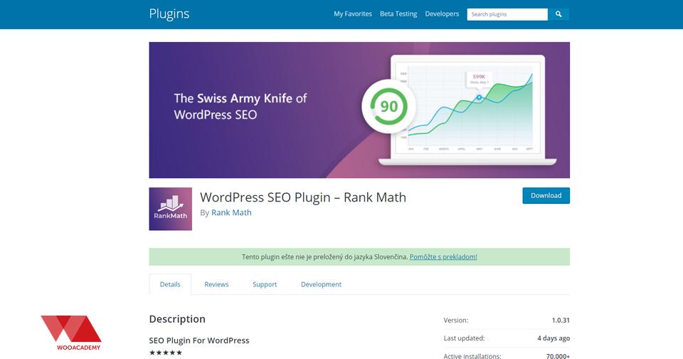 WordPress SEO plugin Rank Math (Yoast Killer ? )