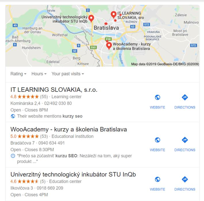 local pack seo wooacademy workshopy