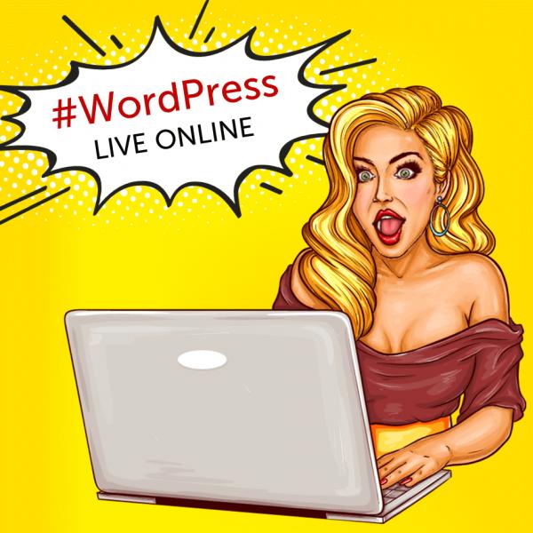 online školenie wordpress