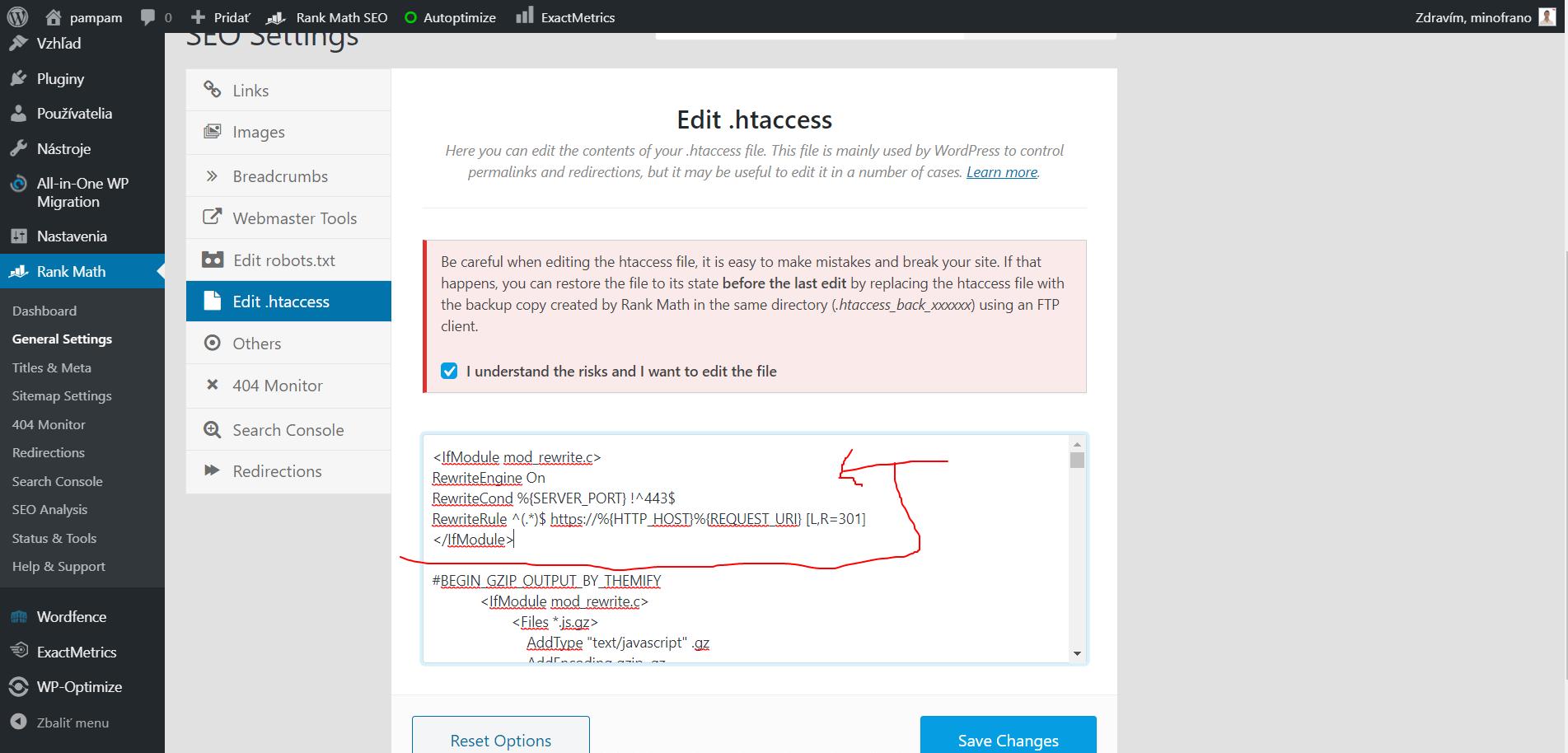 aktivácia ssl cez htaccess