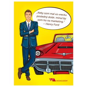 Plagát Henry Ford