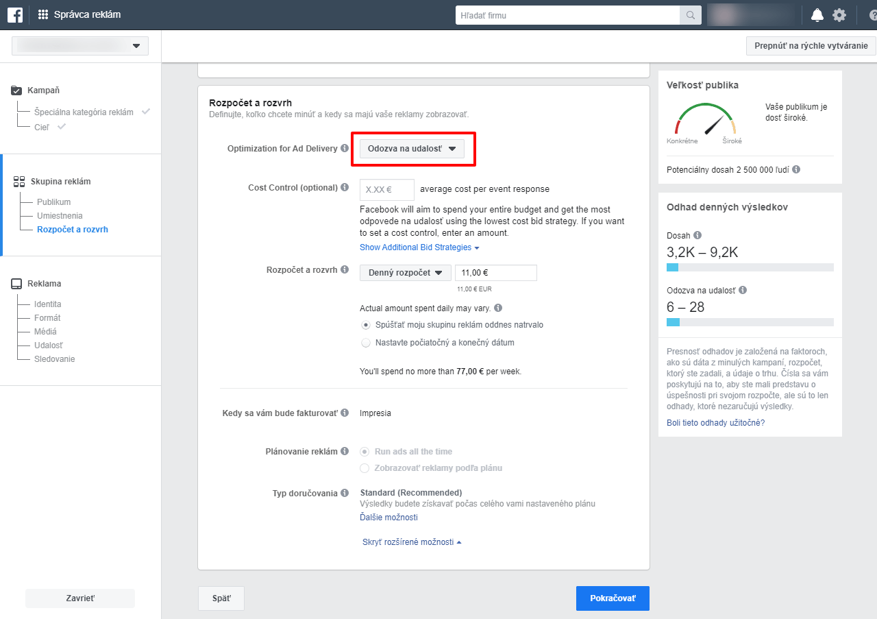 ako-propagovat-udalost-na-facebooku-rozpocet-dorucovanie