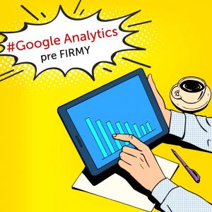 Firemné školenie Google Analytics