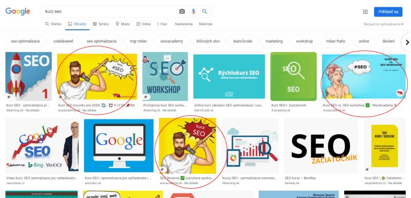 optimalizácia obrazkov pre google