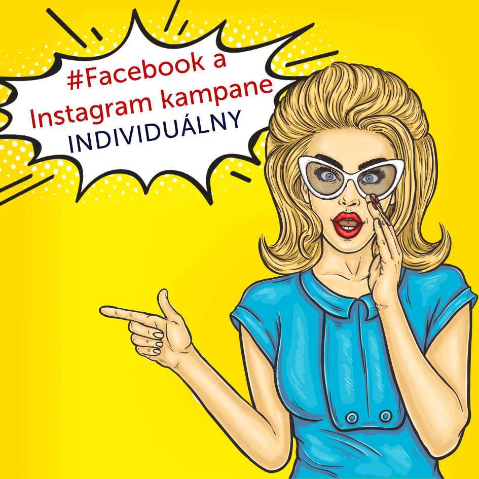 Individuálne školenie Facebook a Instagram kampane