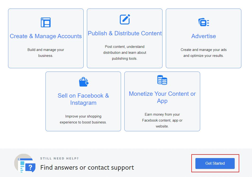 facebook-podpora