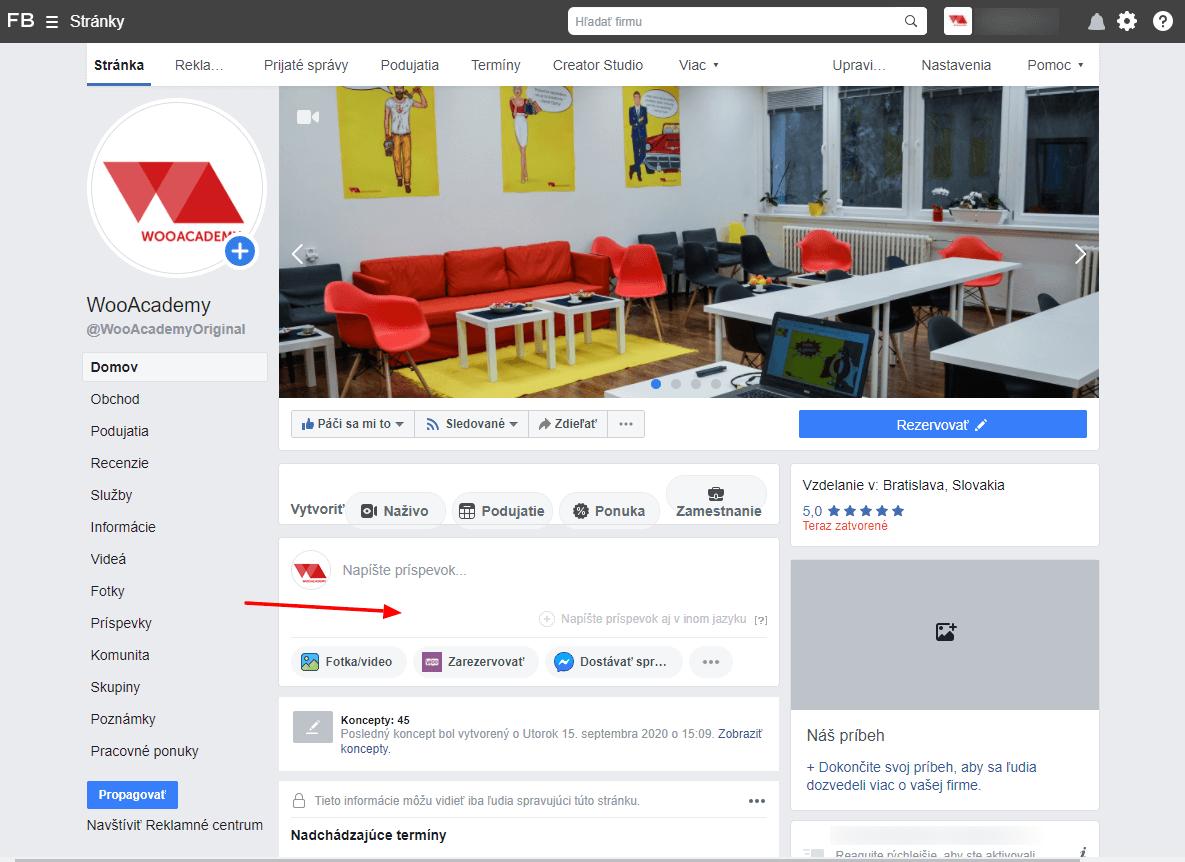 vytvaranie-prispevku-facebook-business-manager