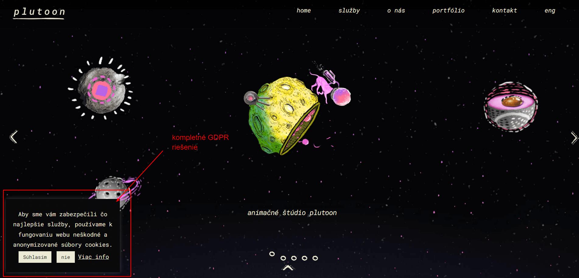 gdpr na web