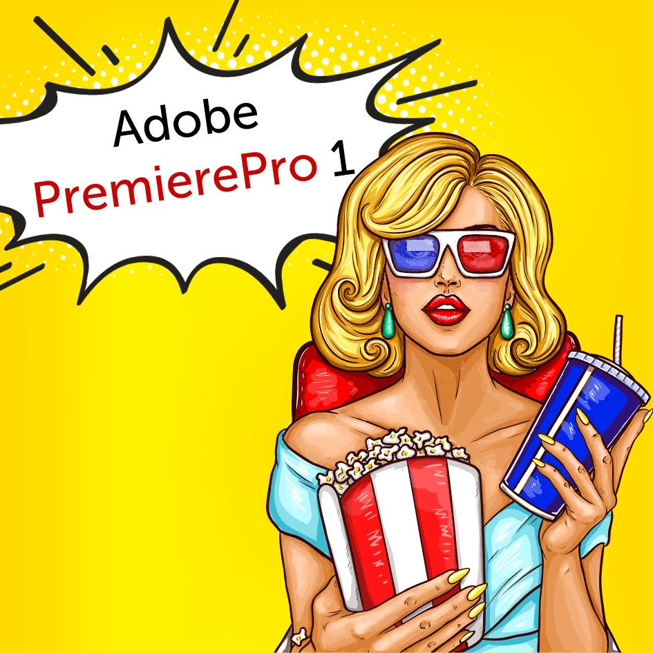Adobe Premiere Pro začiatočník ONLINE