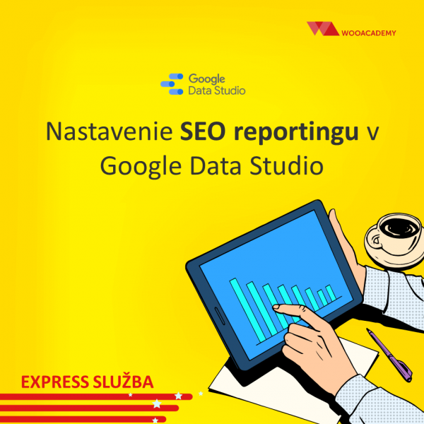 SEO report nastavenie data studio