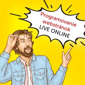 Online školenie programovanie webových stránok (HTML + CSS)
