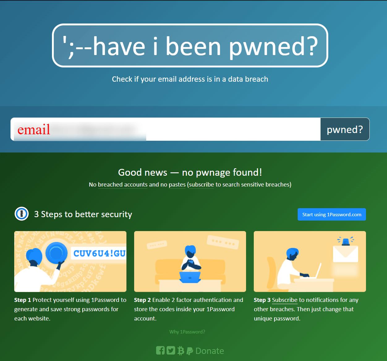 je heslo prelomené