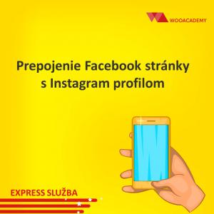 Prepojenie Facebook stránky s Instagram profilom