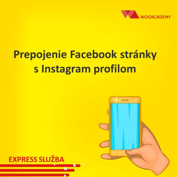 Prepojenie facebook stránky s Instagramom