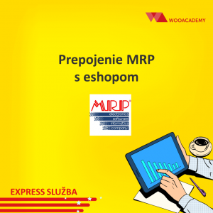 Prepojenie MRPs eshopom [na mieru]