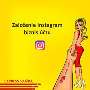 Založenie Instagram účtu