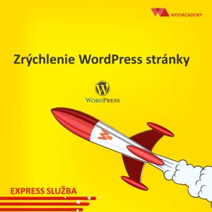 Zrýchlenie WordPress stránky [WP ROCKET]